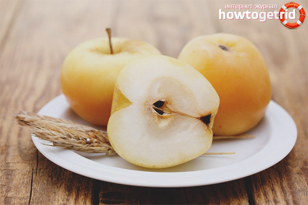 Польза мочёных яблок