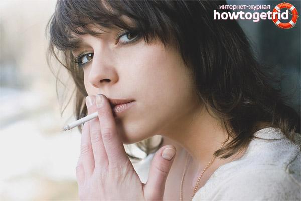 Последствия курения для кормящей матери