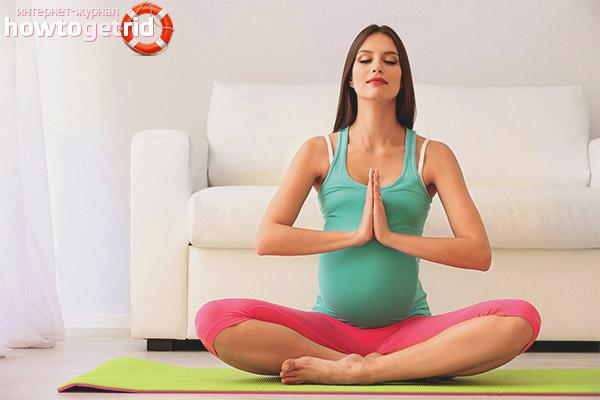 Позы-асаны разрешённые при беременности