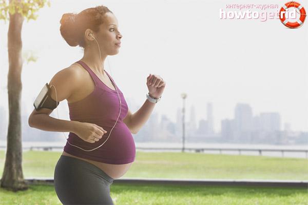 Правила бега для беременных