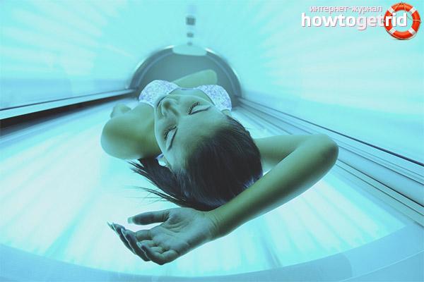 Правила посещения солярия при грудном вскармливании