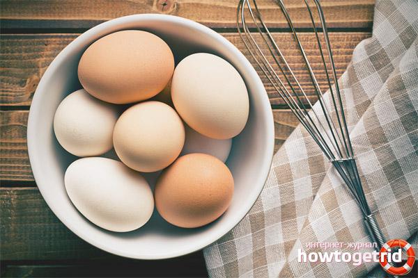 Правила употребления яиц при грудном вскармливании