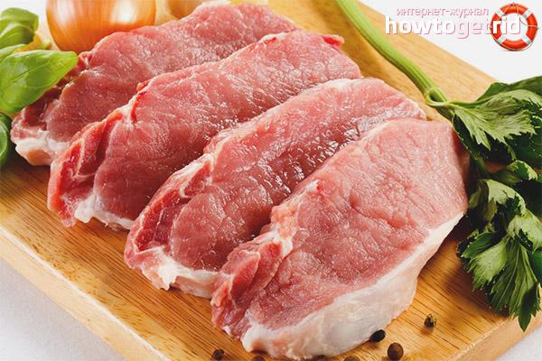 Правила употребления свинины при грудном вскармливании