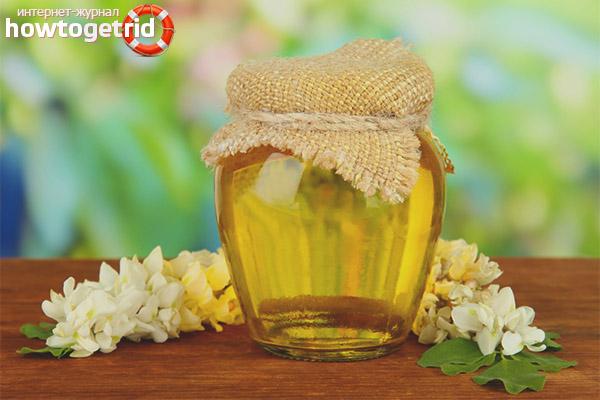 Применение акациевого мёда