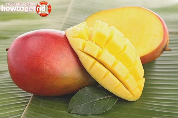 Противопоказания манго при грудном вскармливании
