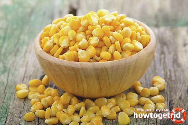 Рекомендации по употреблению кукурузы при гв