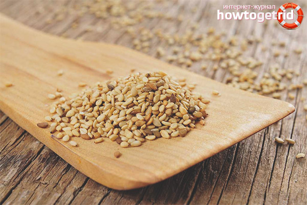Семена кунжута при грудном вскармливании