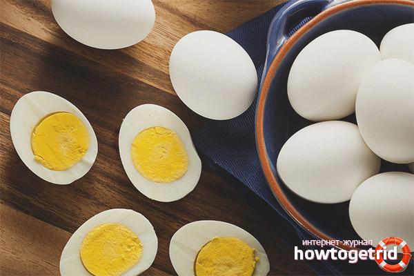 Вред яйц при грудном вскармливании