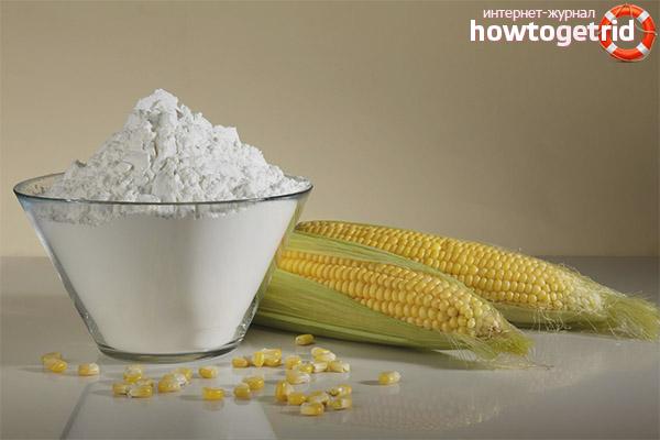 Вред кукурузного крахмала