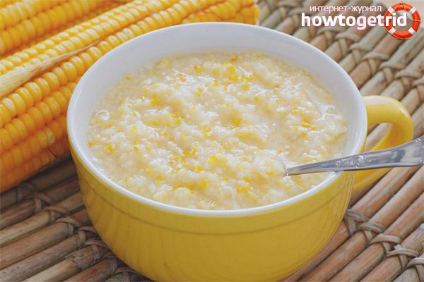 Вред кукурузной каши при грудном вскармливании