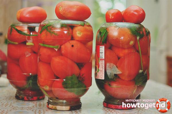 Вред соленых помидор