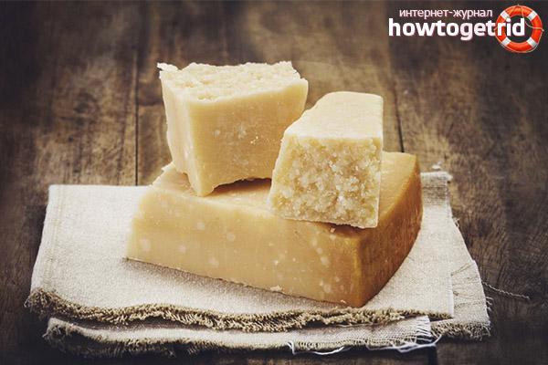Вред сыра пармезан