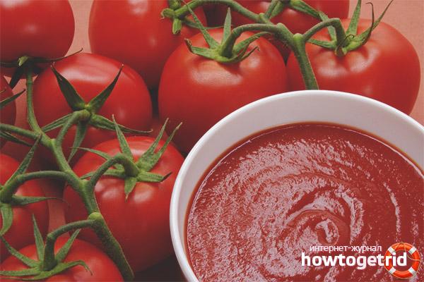 Вред томатной пасты