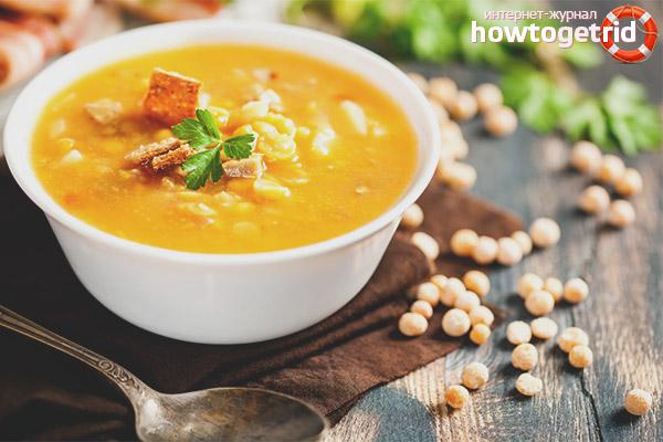 Введение горохового супа в рацион кормящей мамы