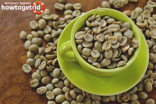 Зелёный кофе при лактации