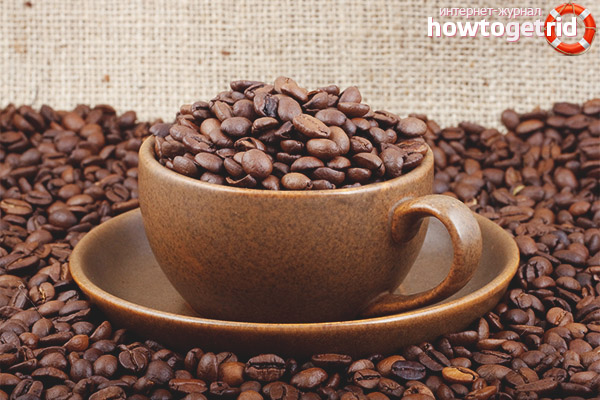 Ежесуточные нормы кофеина