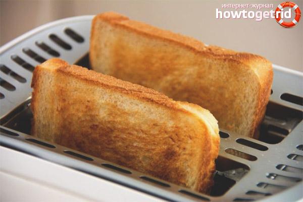 Главные характеристики тостеров