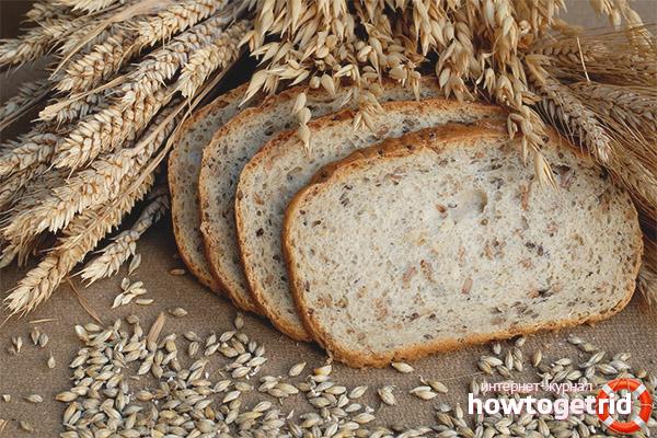 Хлеб из отрубей при грудном вскармливании
