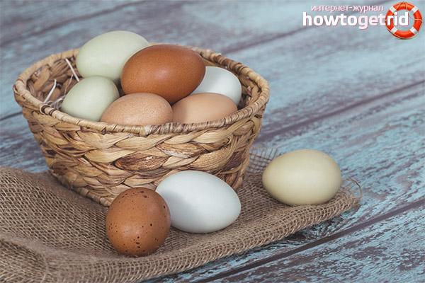 Яйца при сахарном диабете