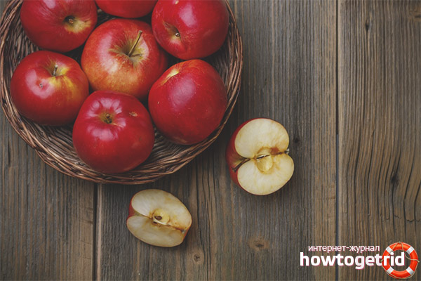 Как лучше потреблять яблоки при беременности