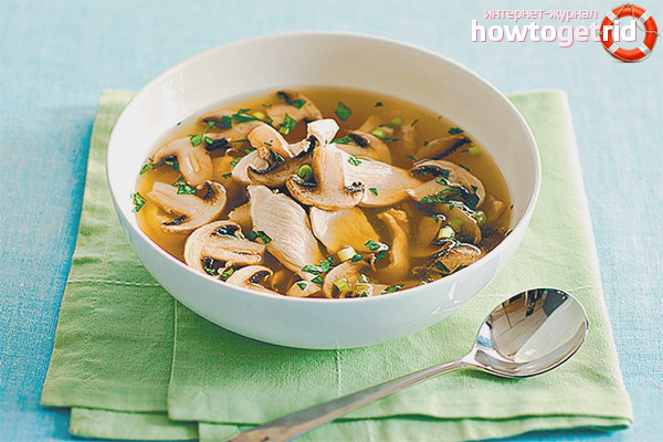Можно ли беременным грибной суп