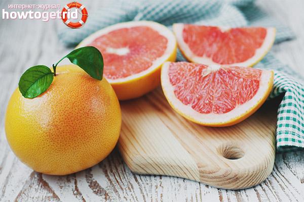 Можно ли беременным кушать грейпфрут