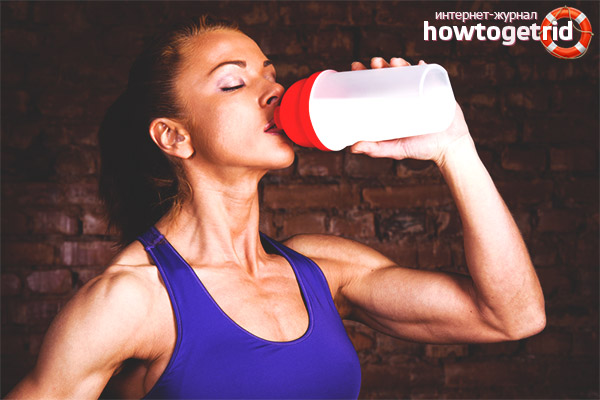 Можно ли пить молоко после тренировки