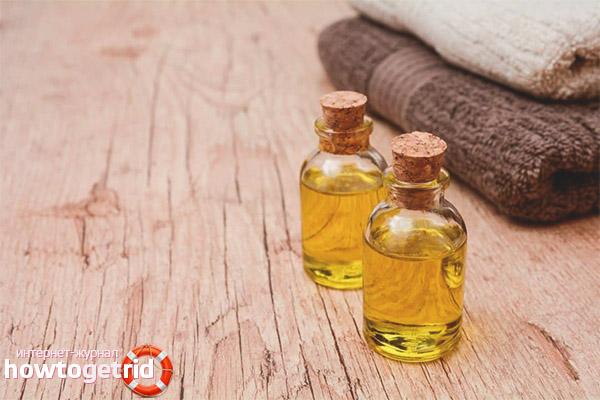 Натуральные масла при псориазе