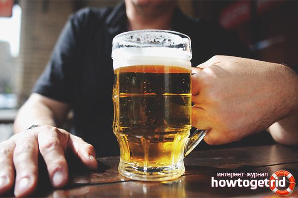 Правила приёма пива при диабете