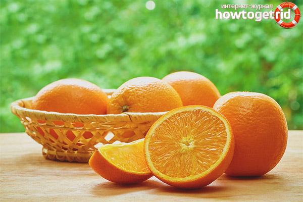Правила употребления апельсинов при диабете