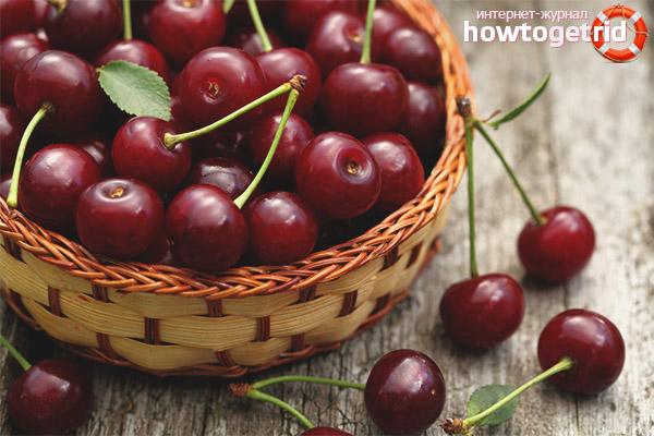 Противопоказания вишни при грудном вскармливании