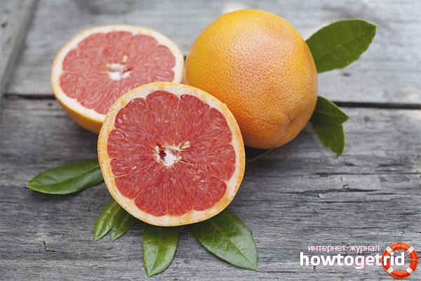 В чем опасность употребления грейпфрута при беременности