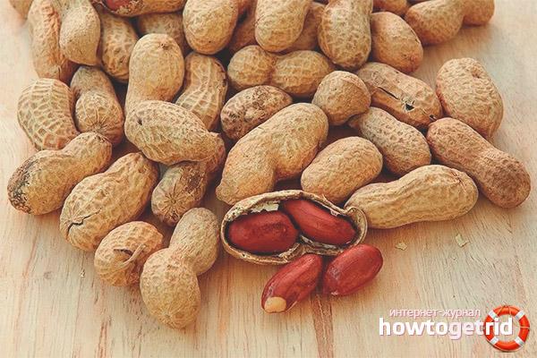 В чем вред арахиса при беременности