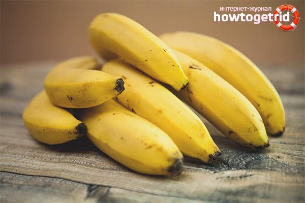 Вред бананов при сахарном диабете