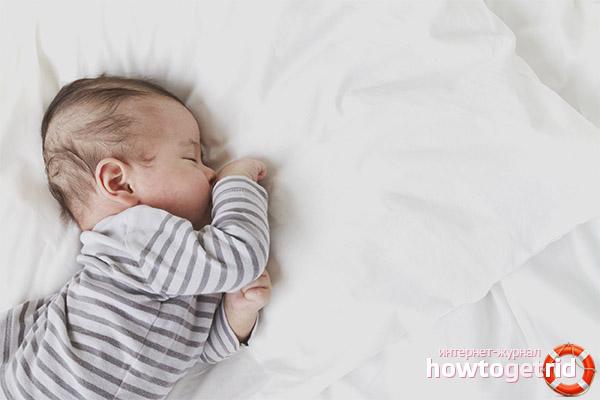 Время засыпания и возраст малыша