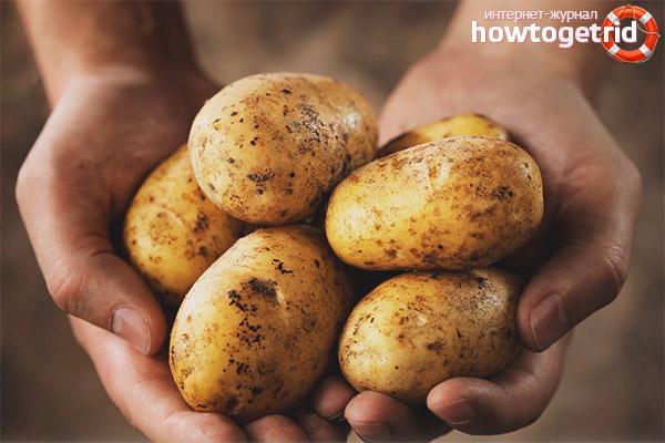 Как готовить картофель при сахарном диабете