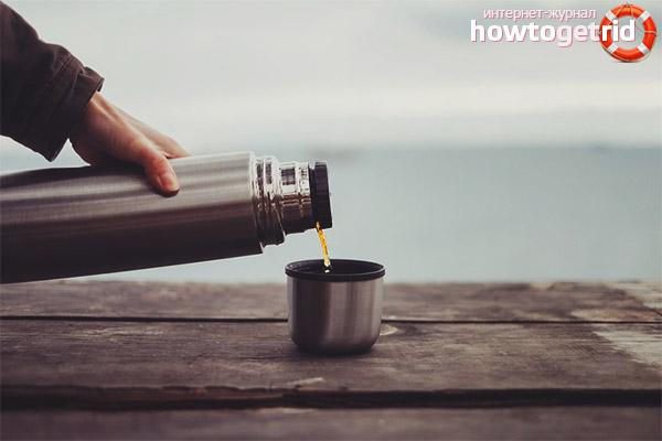 Как заварить зелёный чай в термосе