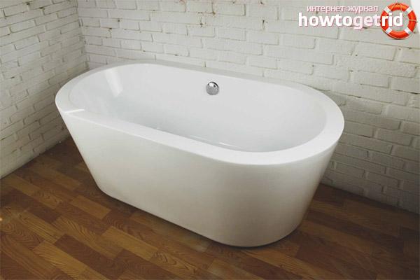Какими бывают акриловые модели ванн