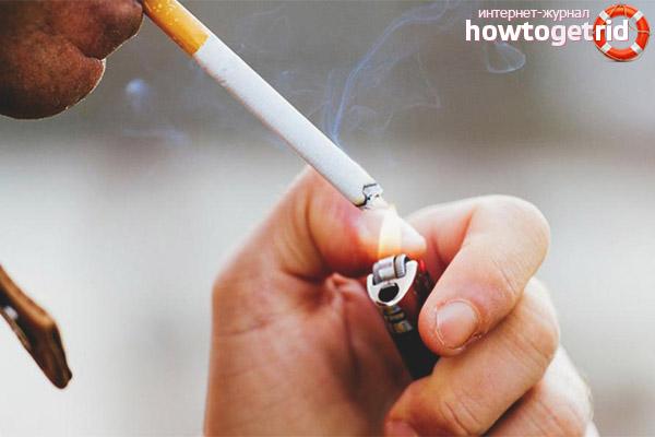 Почему нельзя курить после удаления желчного пузыря
