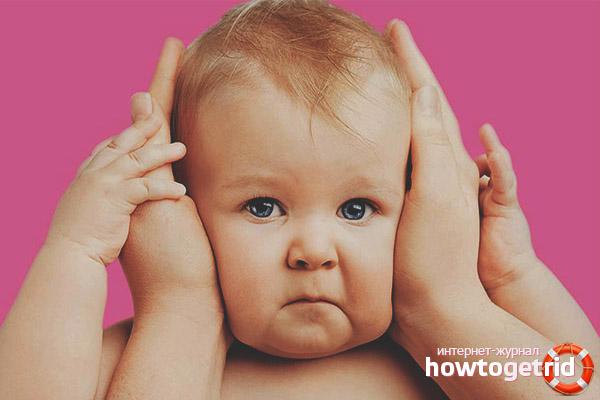 Народные средства от боли в ухе у ребенка