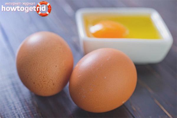 Правила потребления сырых яиц