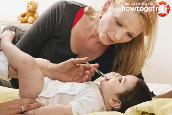 Как лечат инфекцию ротавируса