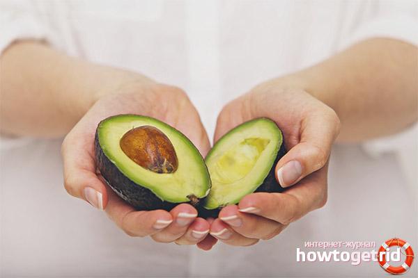 Авокадо при гастрите