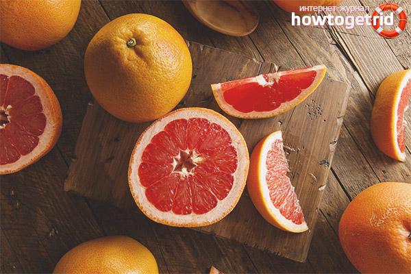 Ценность грейпфрута для женского здоровья