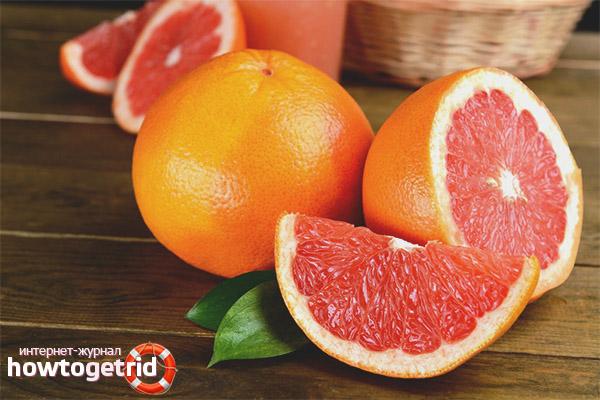 Чем полезен грейпфрут для женщин и мужчин
