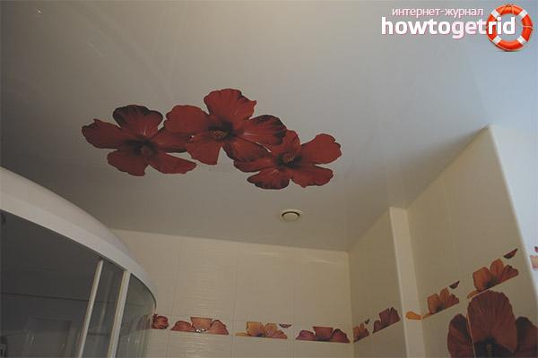 Декоративность и фотопечать на тканевых потолках
