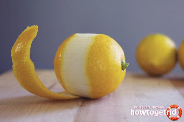 Есть ли польза в кожуре лимона
