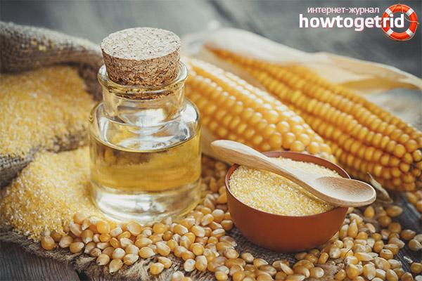 Где в медицине практикуется применение кукурузного масла