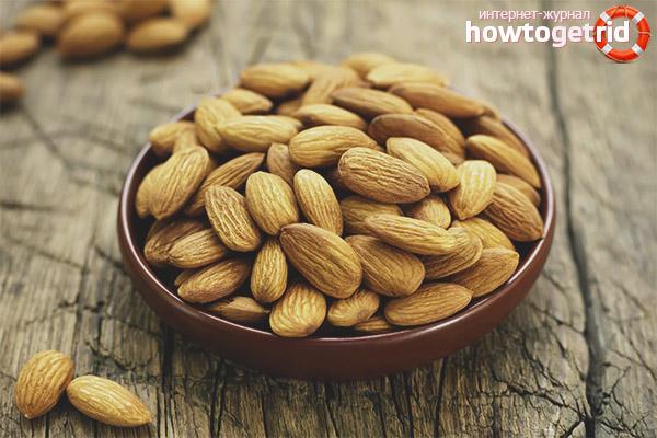 Как лучше использовать миндаль при похудении