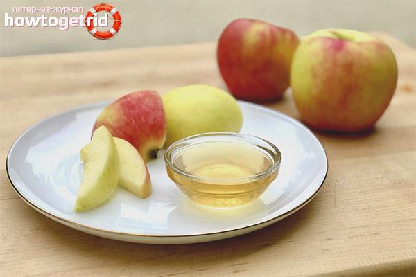 Как приготовить маску для волос из яблок